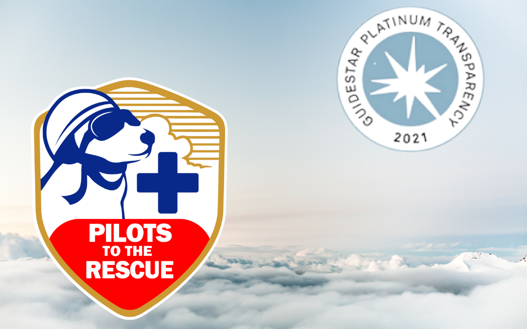 Pilots to the Rescue earns GuideStar Platinum Level Seal of Transparency