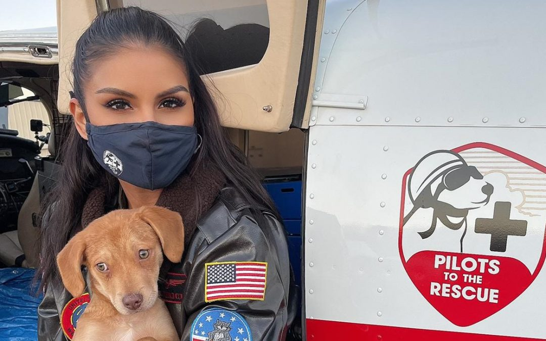Jazmin Ivy joins Pilots To The Rescue